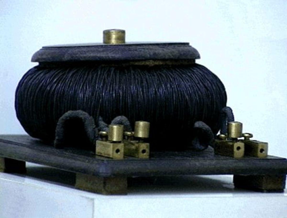 First transformer built by Ottó Bláthy, Miksa Déri, Károly Zipernowsky.