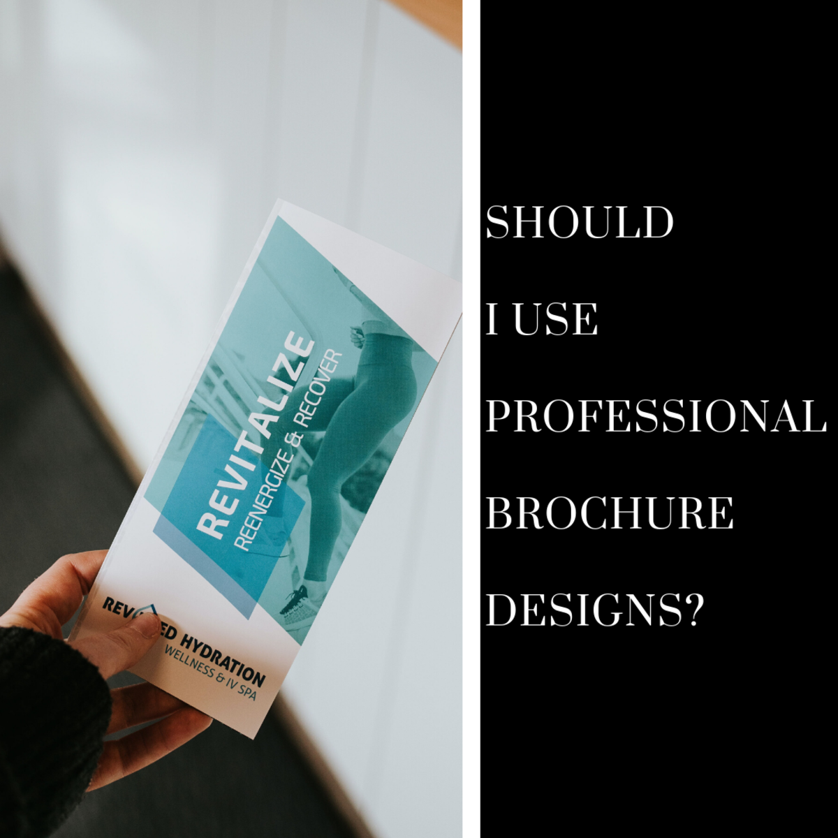 Should I Use Professional Brochure Designs?