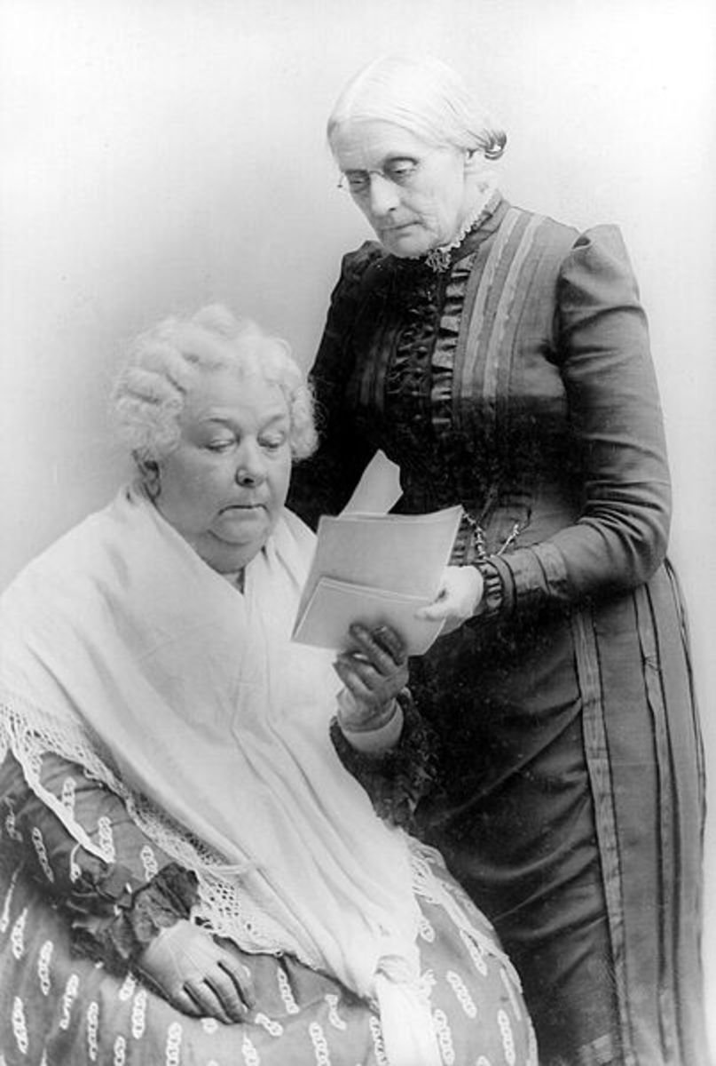 Elizabeth Cady Stanton and Susan B. Anthony American Women's Rights Movement