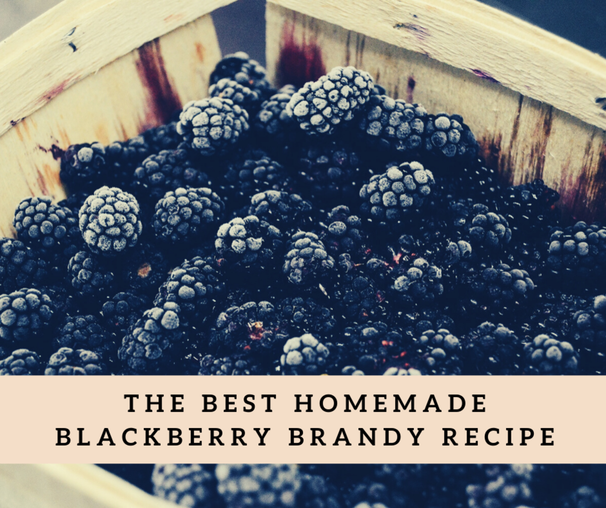 The Best Homemade Blackberry Brandy Recipe