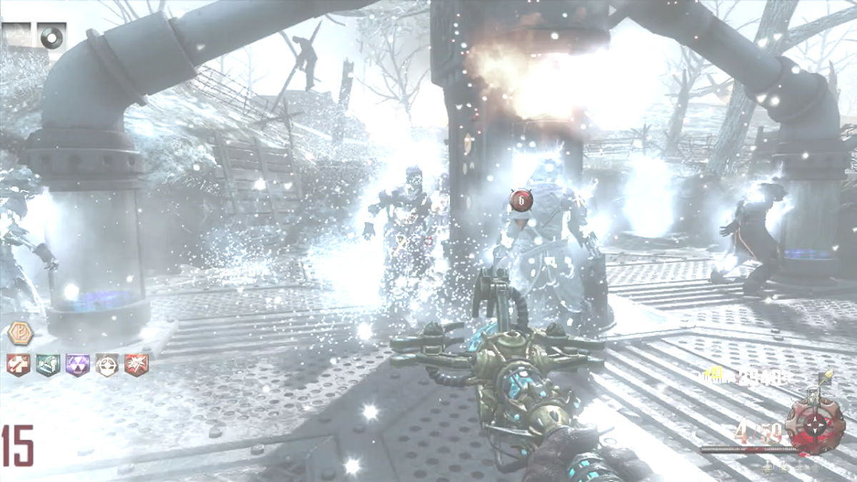 The Staff of Ice is very effective against Templar Zombies.