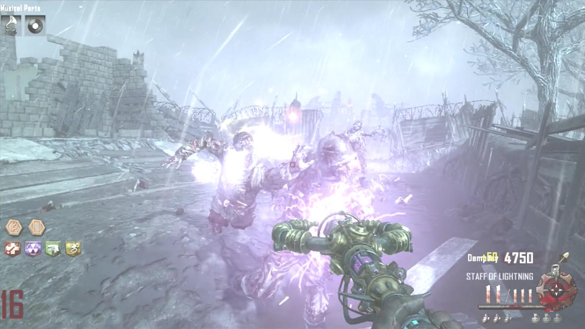 Staff Of Lightning In Origins Call Of Duty Black Ops 2