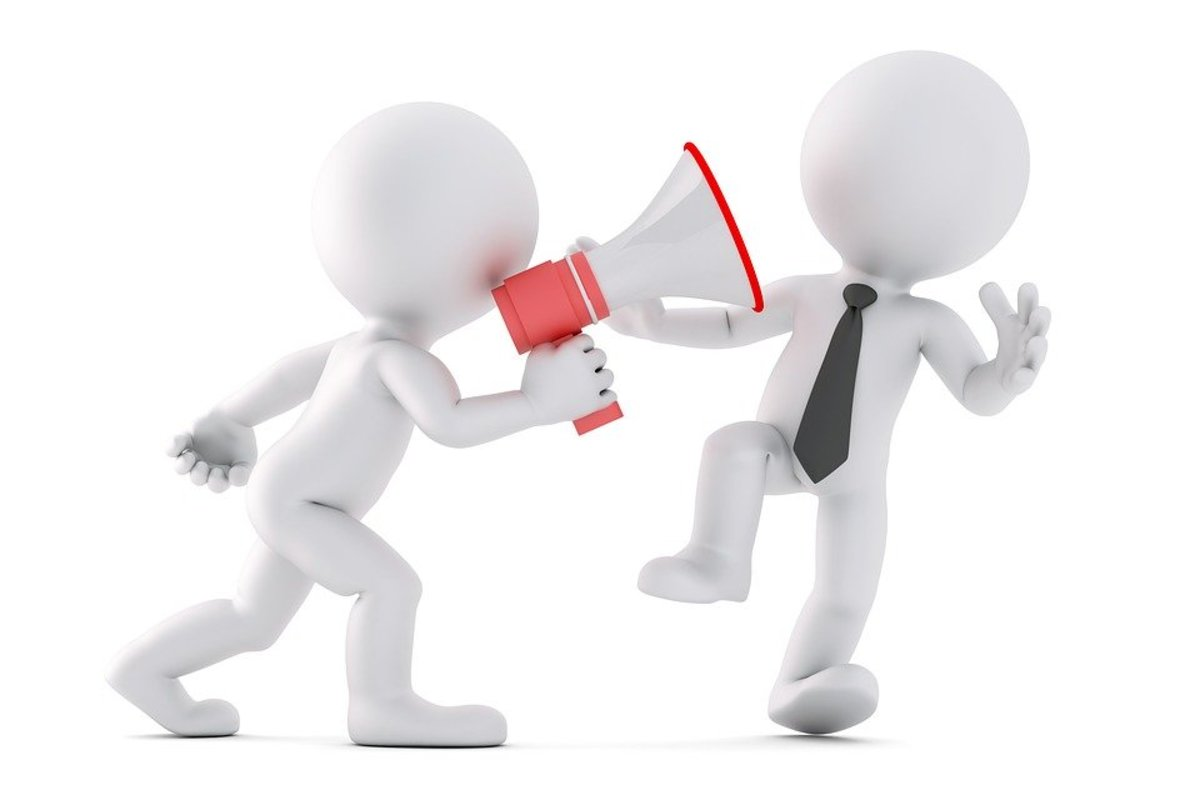 A bad supervisor always seems like they are yelling through a megaphone.