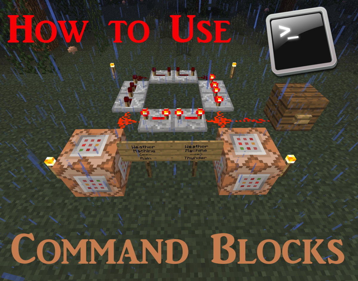 How To Use Command Blocks In Minecraft Levelskip Three Way Switch