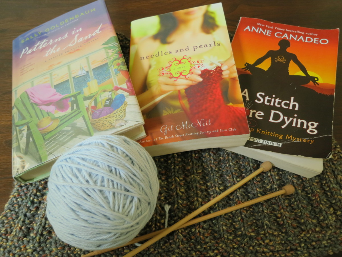 knitting-themed novels (knit lit fiction)