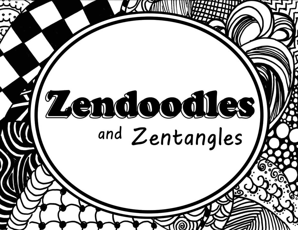 image regarding Zentangle Patterns Step by Step Printable called How towards Acquire a Suitable Zendoodle or Zentangle Routine