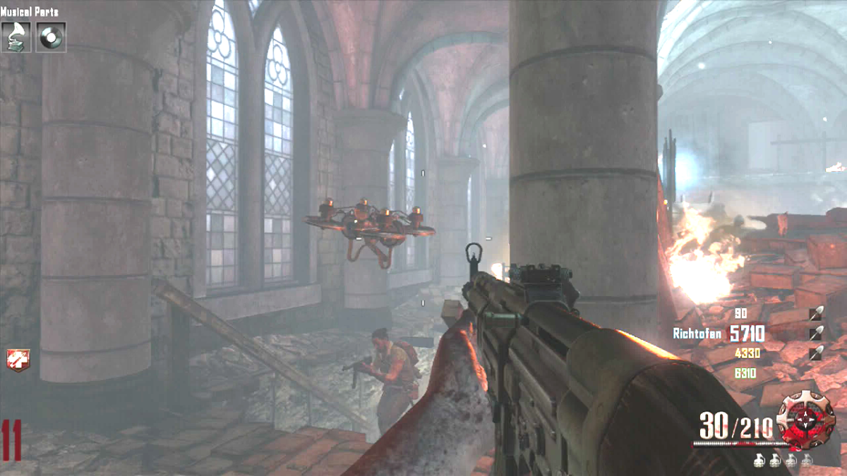 The Maxis Drone in Origins - Call of Duty: Black Ops 2, Zombies