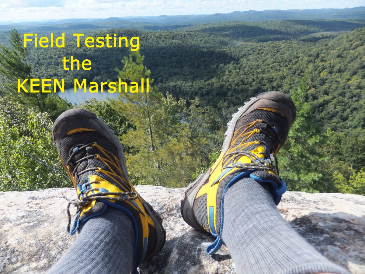 Field testing the Keen Marshall in the Adirondacks.