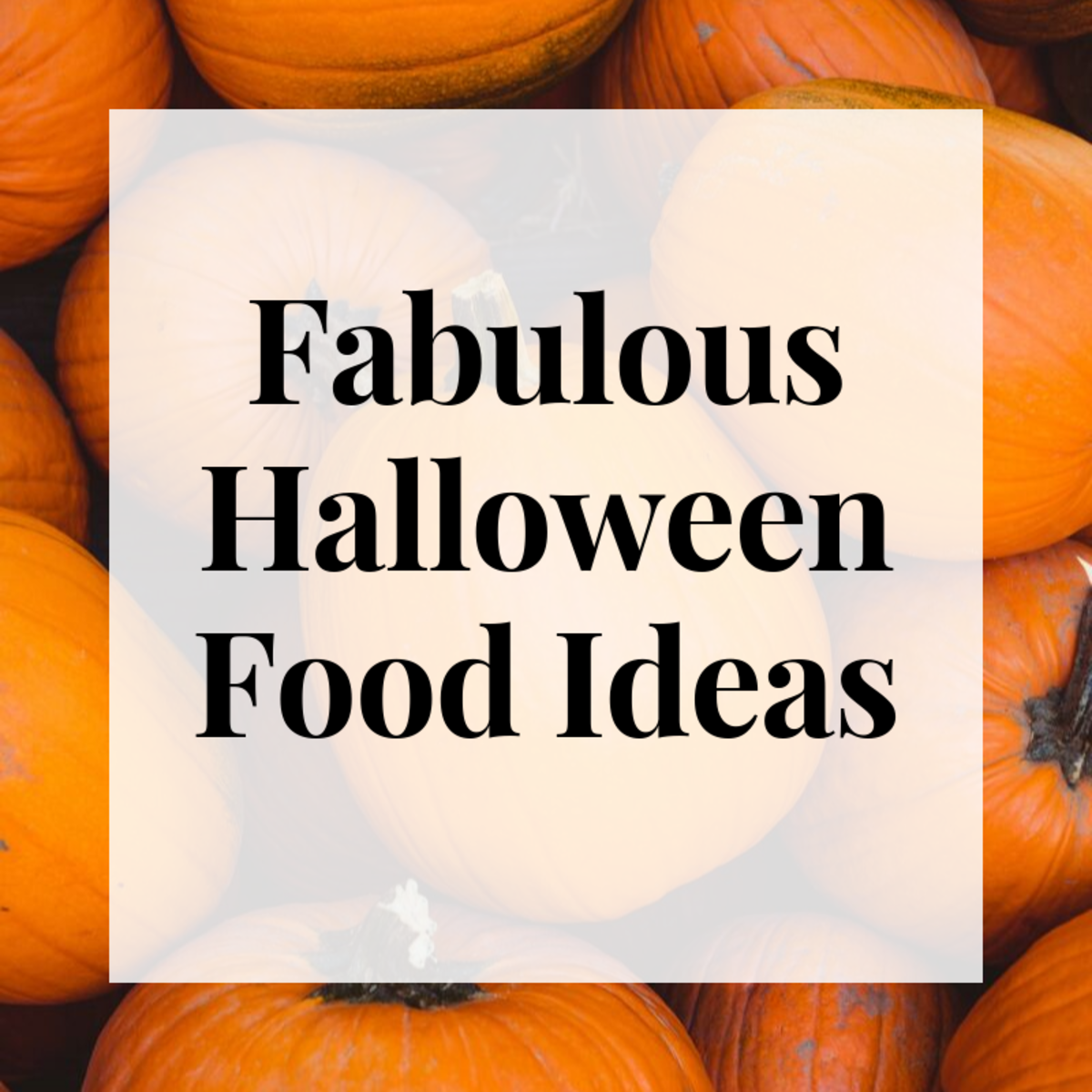 These fabulous Halloween food ideas are fun and delicious!