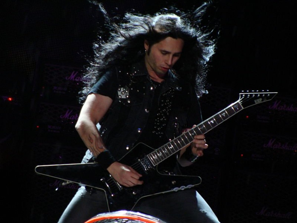 Gus G. is one of Ozzy Osbourne's most recent guitarist. He's a talented player on-par with the list of guitar legends who have worked with Ozzy over the years.
