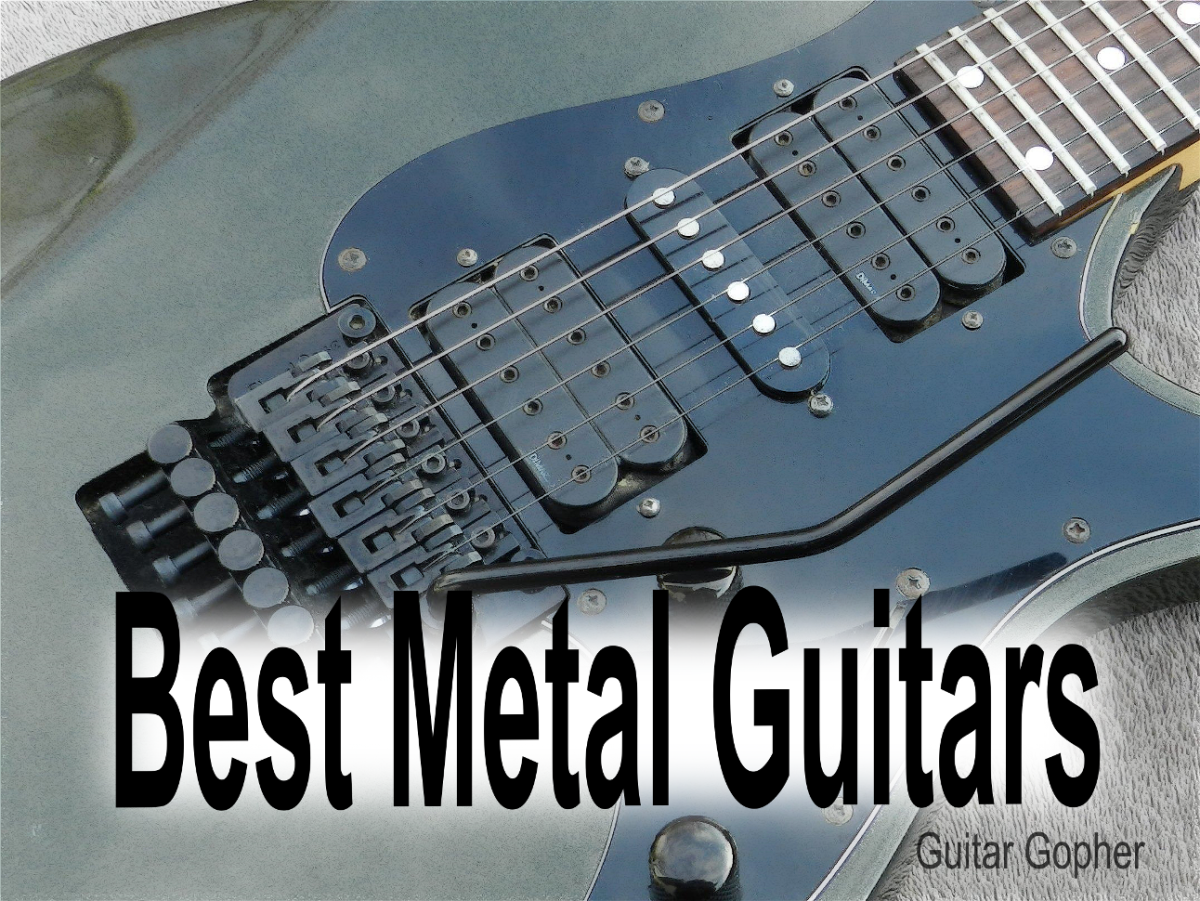 The best guitars for modern metal, thrash, shred, classic metal and hard rock.
