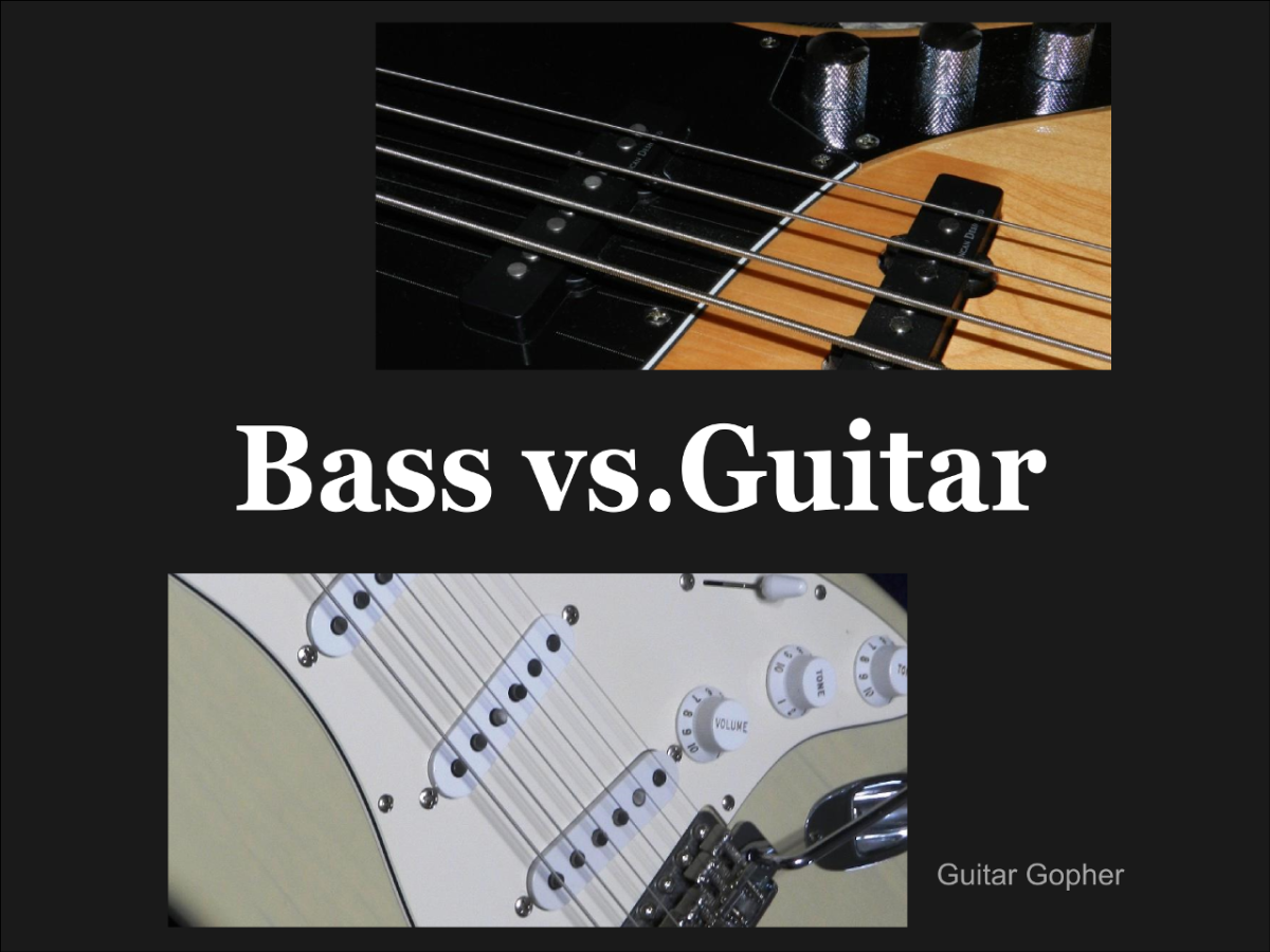 Bass vs. Guitar: Difference, Difficulty and Which Is Better for You ...