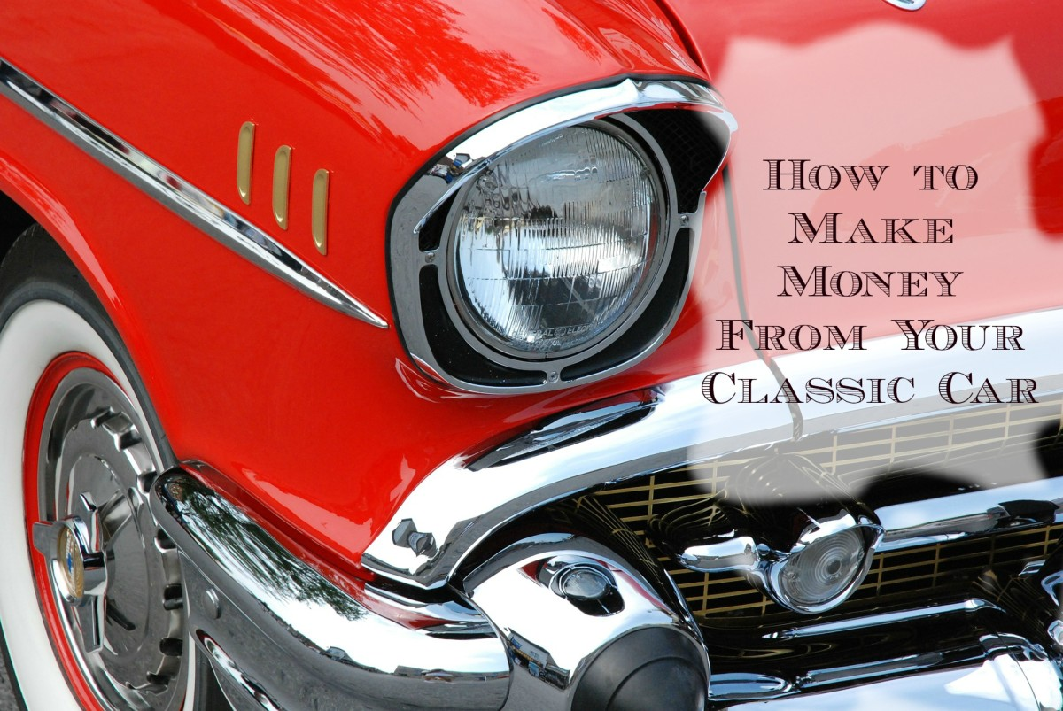 Do you own a classic car, but find that it's costing you too much to keep? Learn how to make money with your classic car.