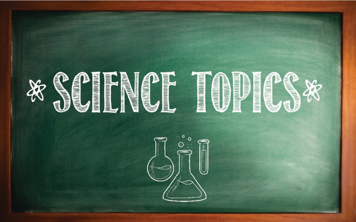 science and technology research topics