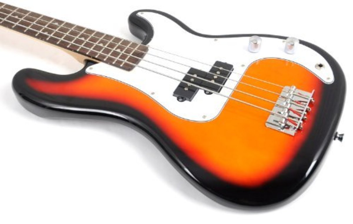 SX bass guitars are great for beginners, but can they compete with Squier?