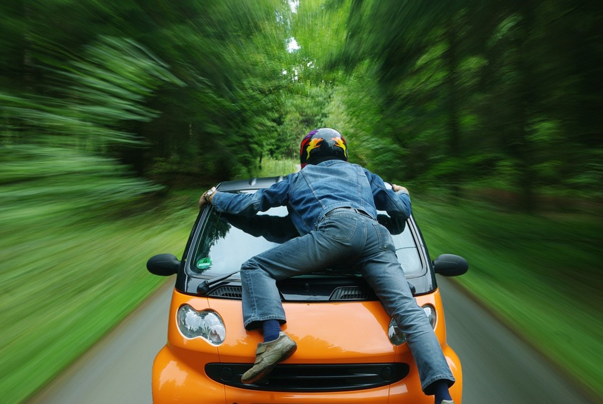 Road rage can lead to property damage, injury, and even death.