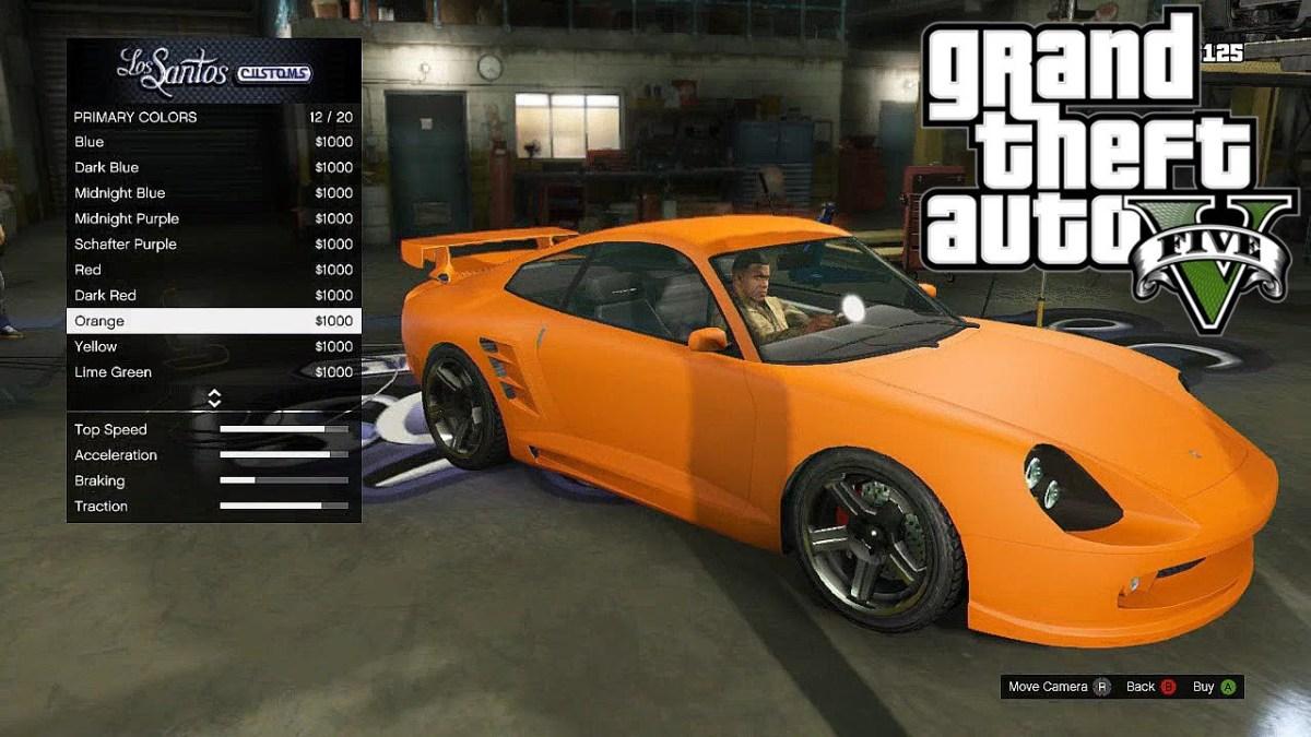 Gta V Best Looking Muscle Car