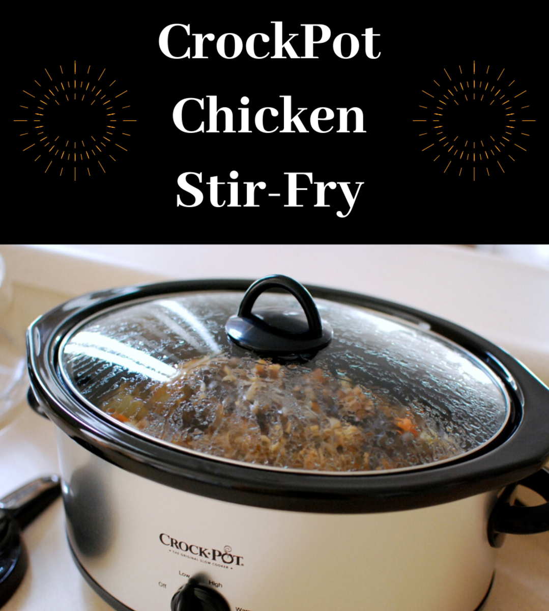 CrockPot Chicken Stir-Fry for Slow Cooker Nights