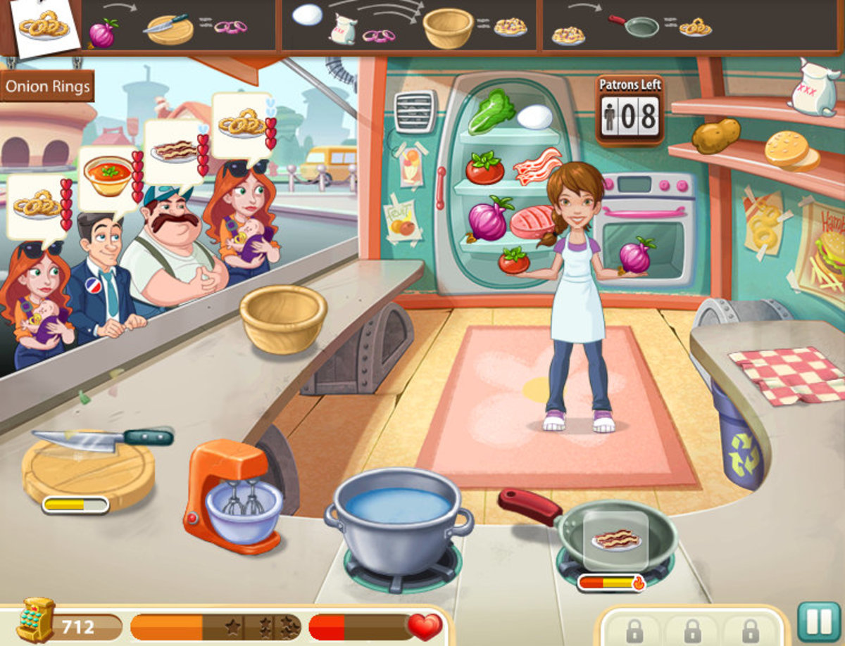 Kitchen Scramble Tips, Hints and Tricks