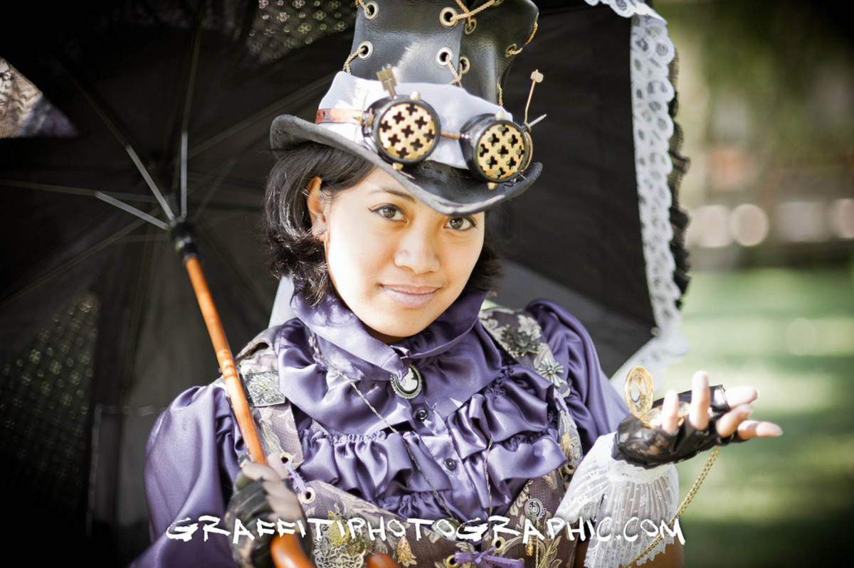 Asian Steampunk Lady