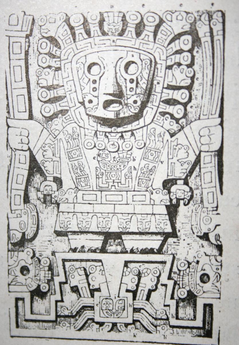 Illustration: Viracocha, the primary Incan deity