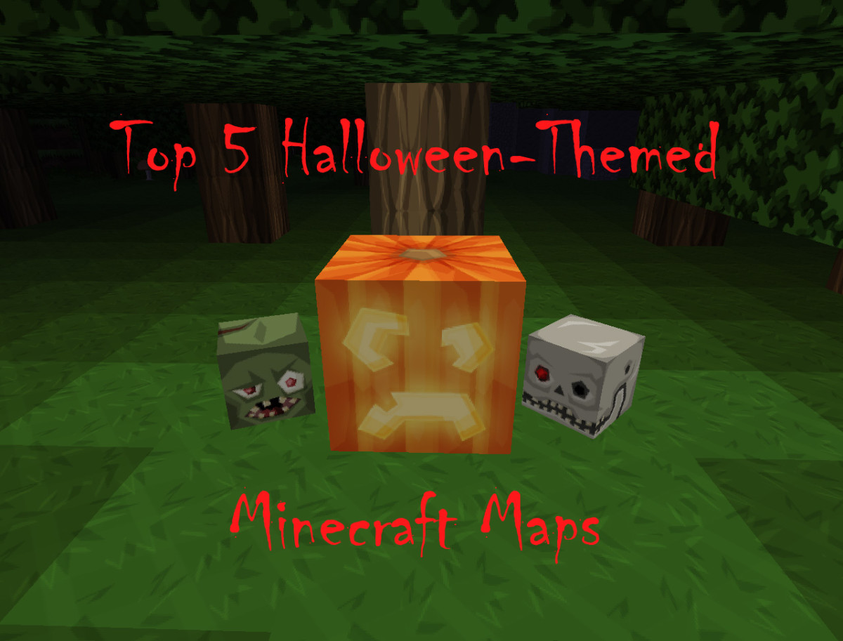 Top 5 Halloween-Themed Minecraft Maps