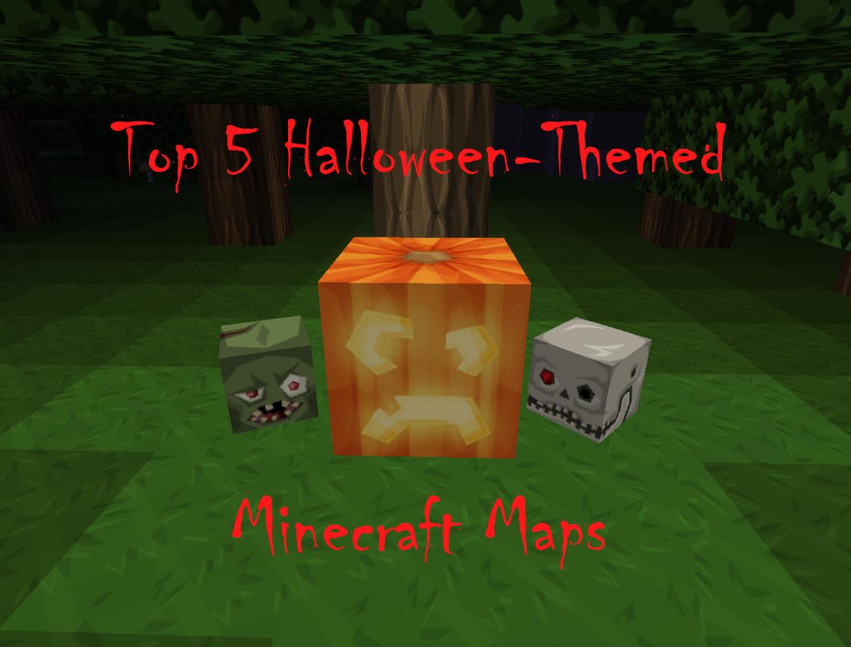Top 5 Halloween-Themed Minecraft Maps