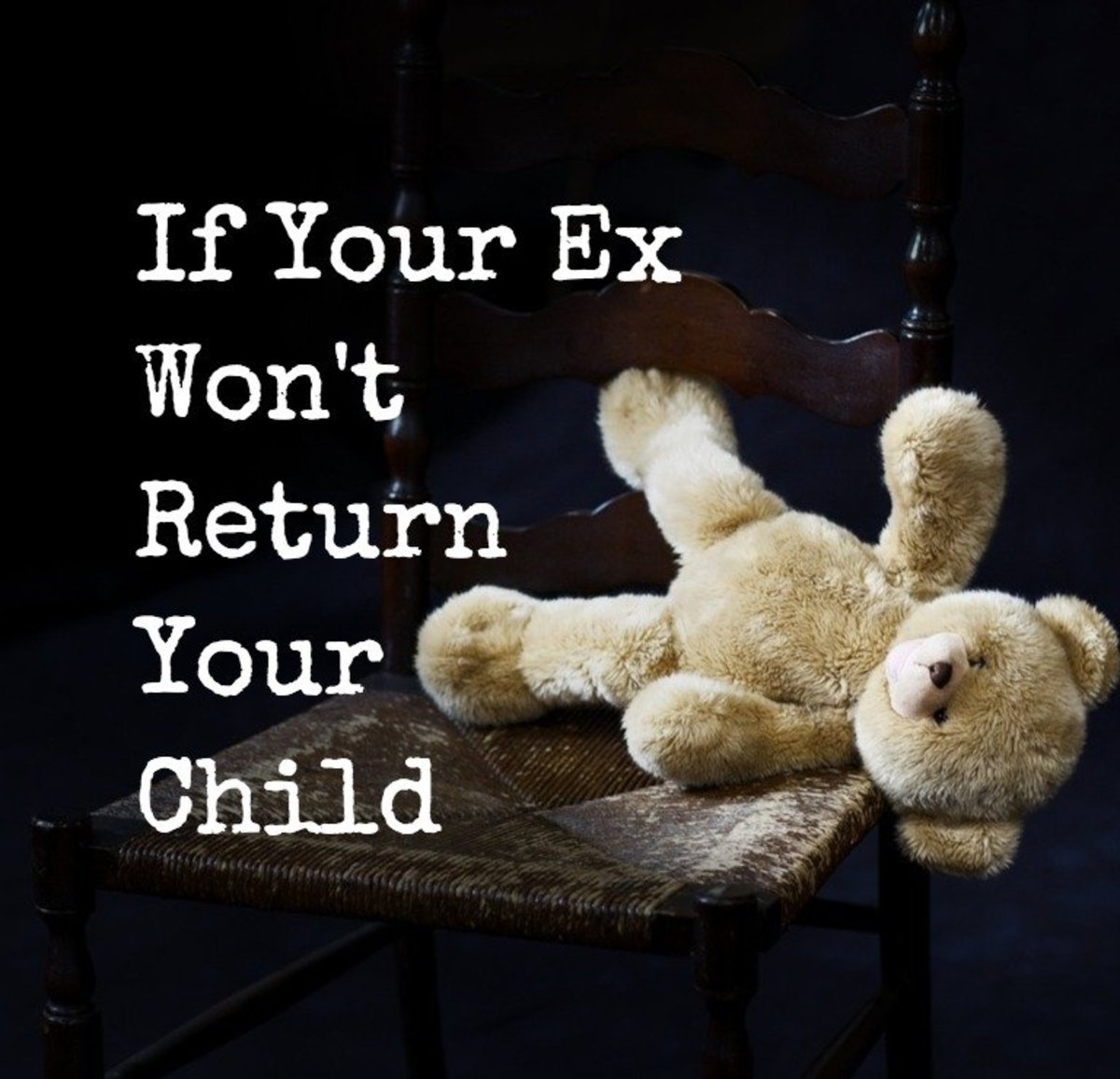 When a parent withholds a child from another parent, it's traumatic for the child and the parent who's missing their son or daughter.