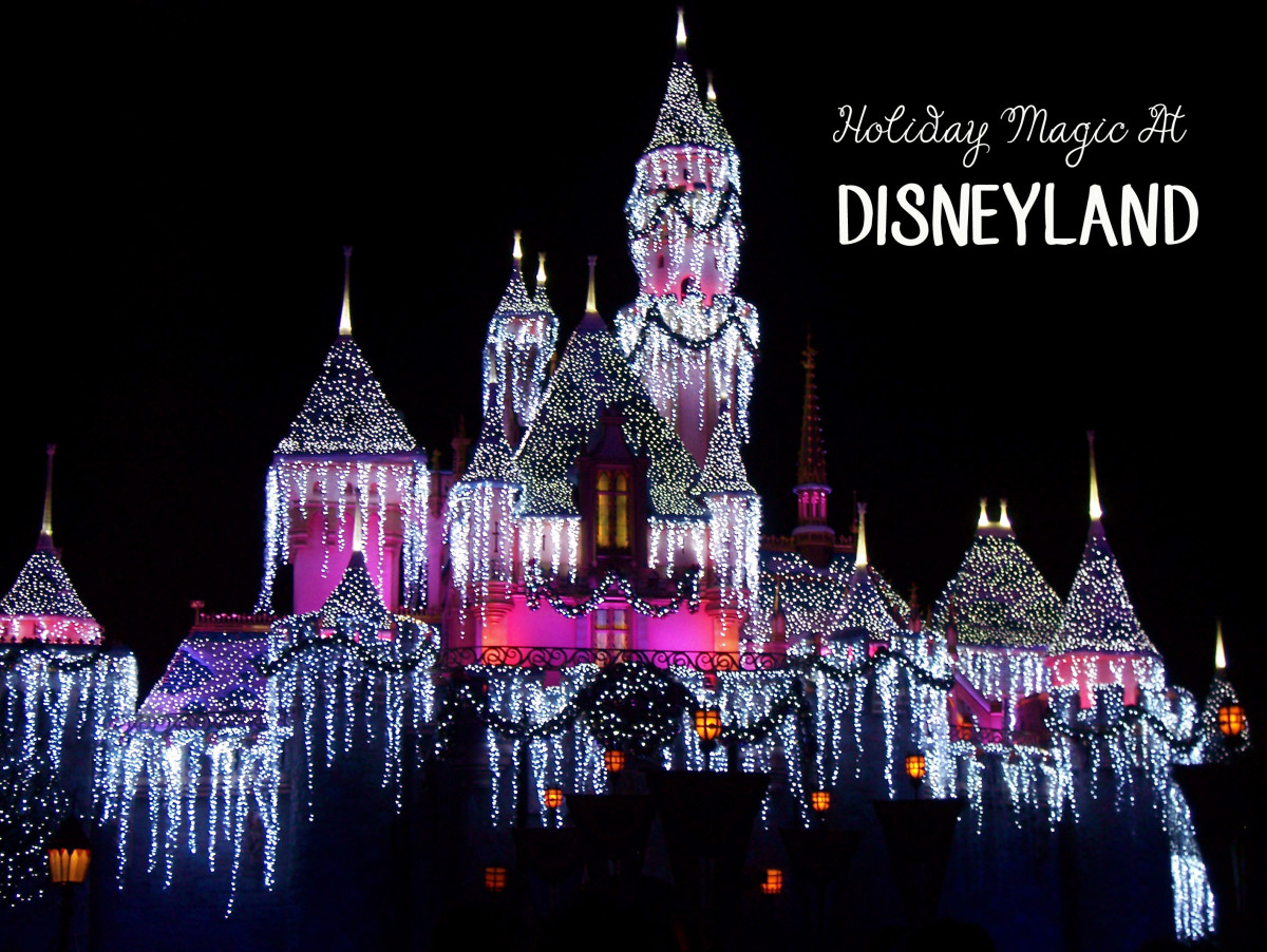 Holiday Magic at Disneyland