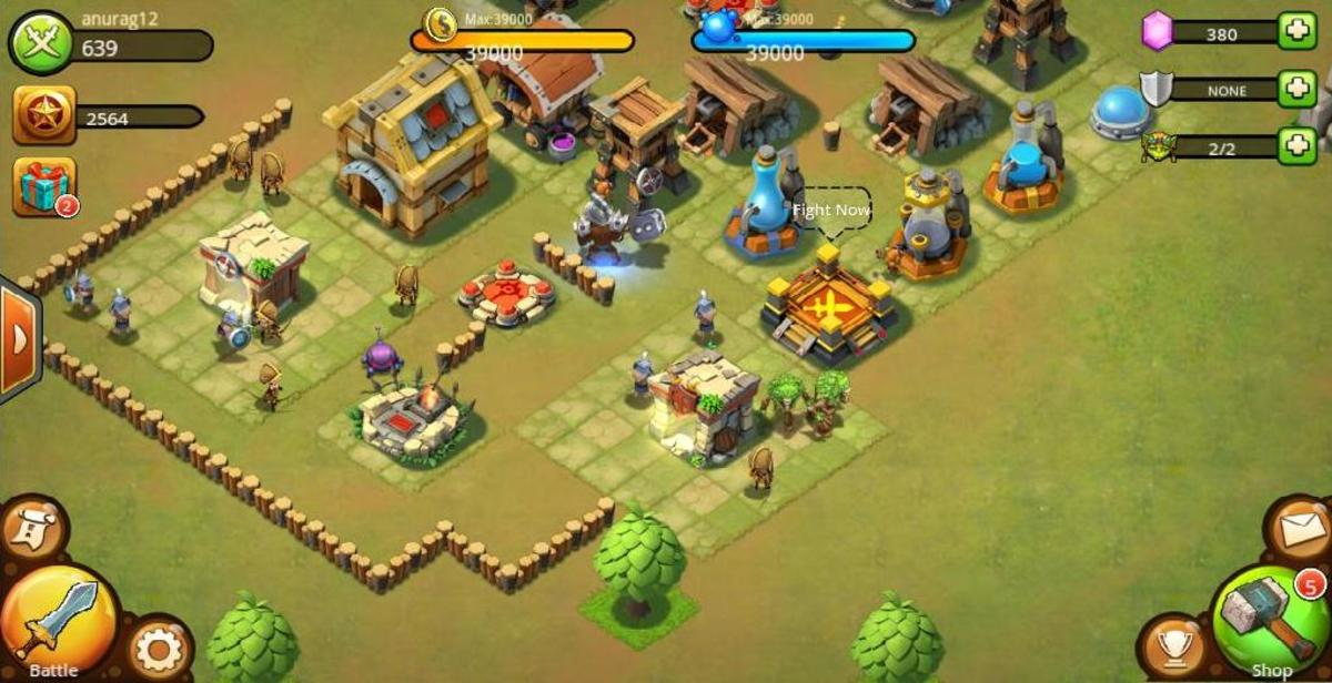 Army Camps, Castle Clash