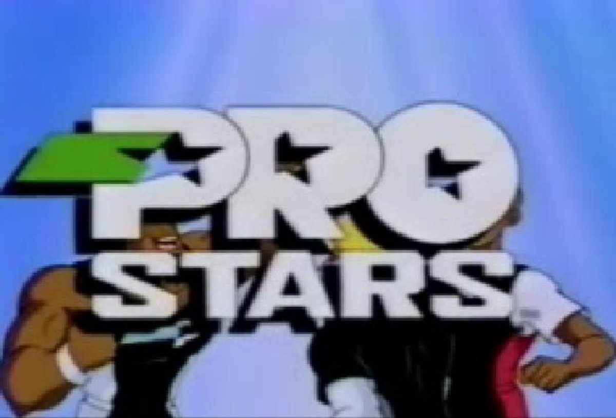 Classic Cartoons From The 90's: 'ProStars'.