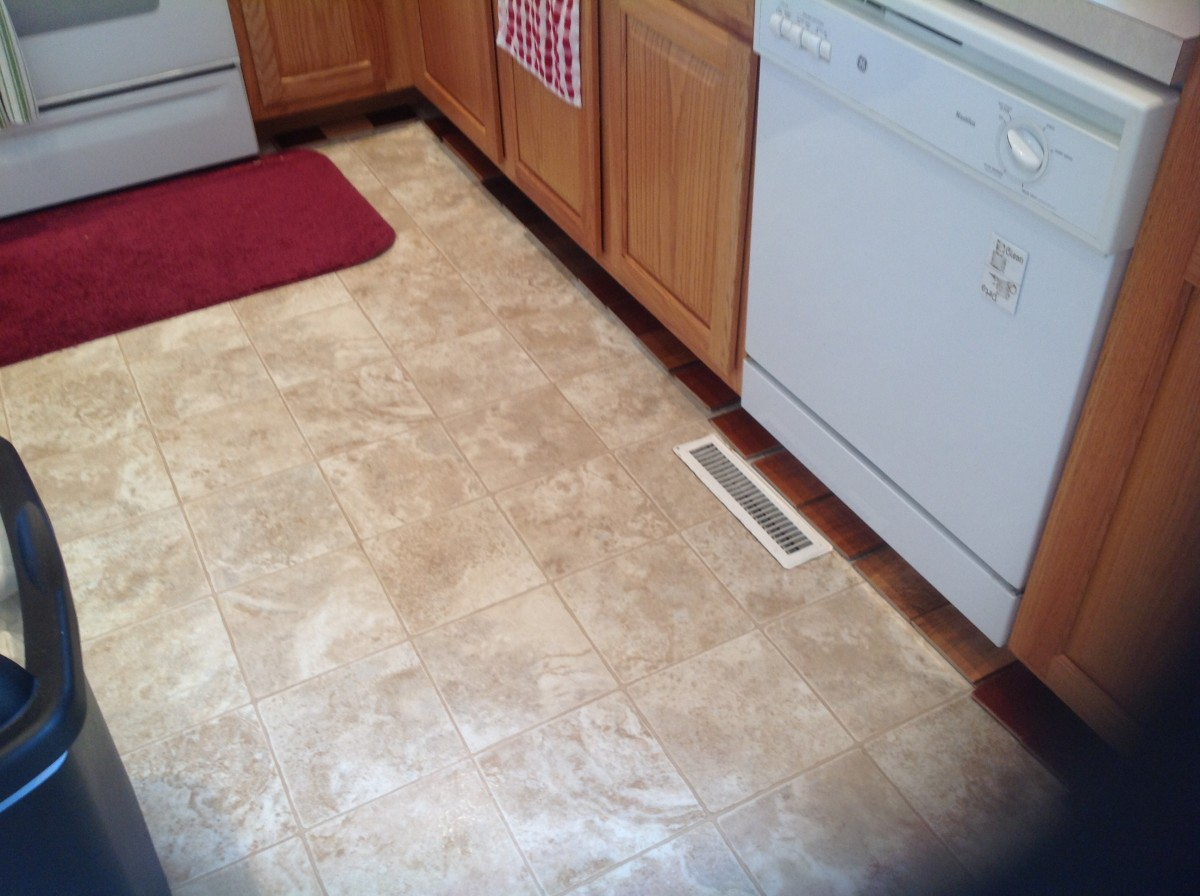 Why We Chose Vinyl Flooring for Our Kitchen (Instead of Wood or Laminate)