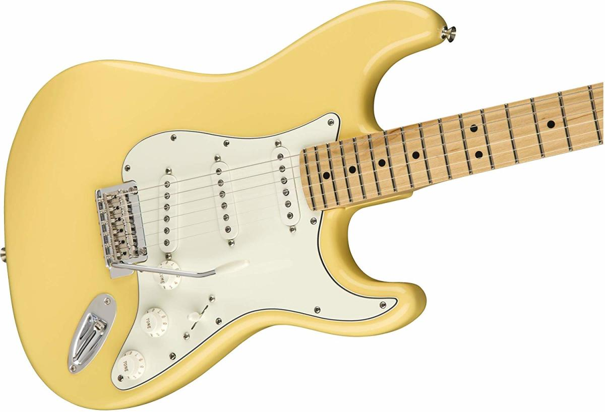 The Fender Player Stratocaster is one of the best electric guitars for under a $1000.