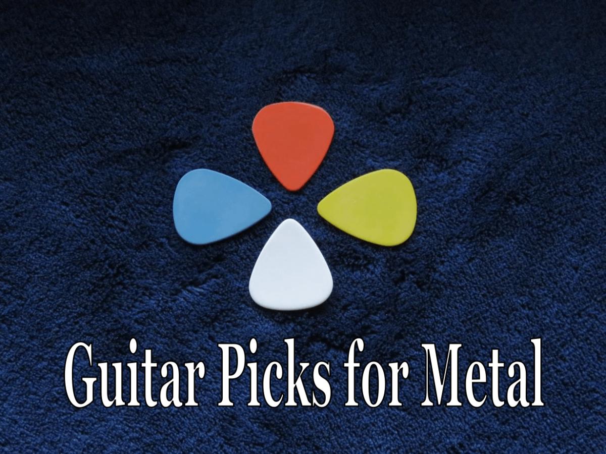 Best Guitar Picks for Metal and Hard Rock
