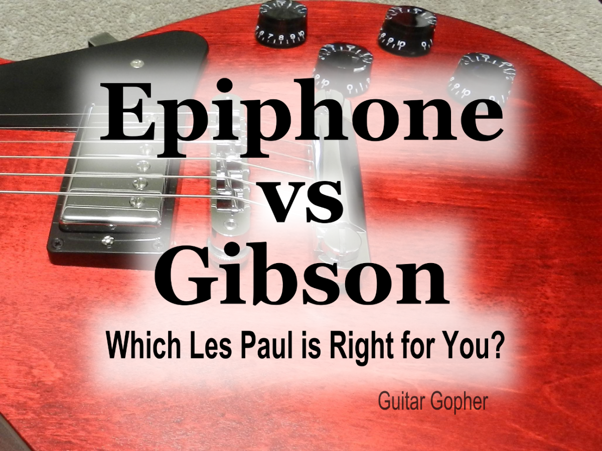Both Epiphone and Gibson make great versions of the Les Paul. Which guitar is best for your goals and budget?
