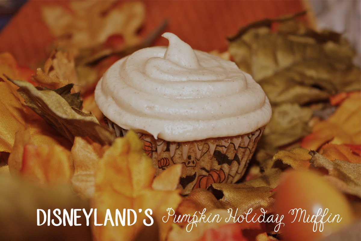 Disneyland's Pumpkin Holiday Muffin