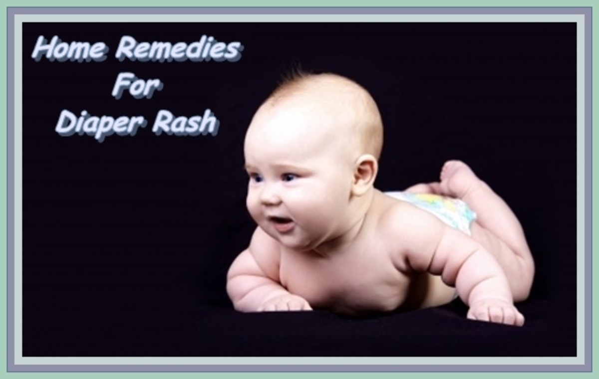 Home Remedies For Diaper (Nappy) Rash