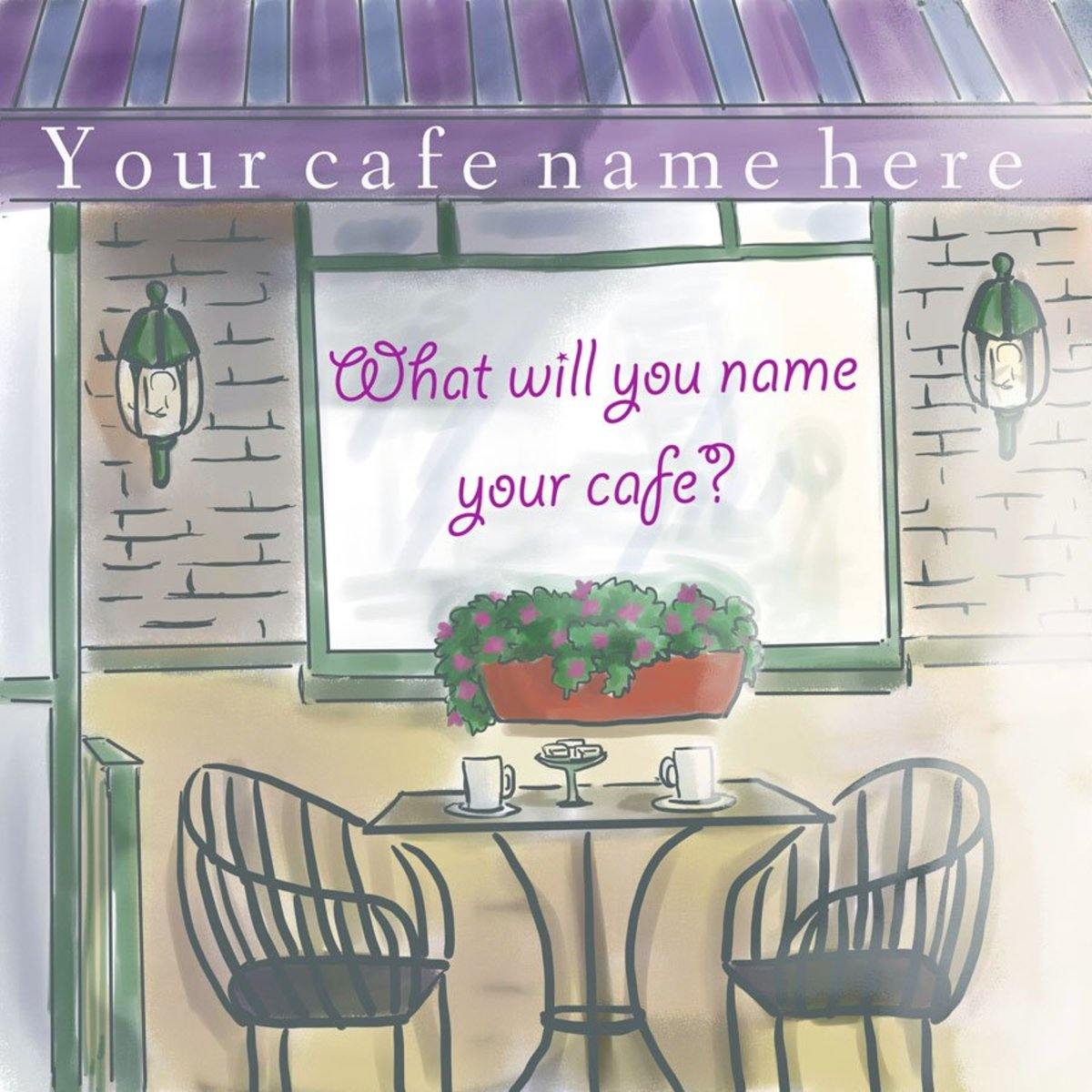 Are you searching for a cafe name?