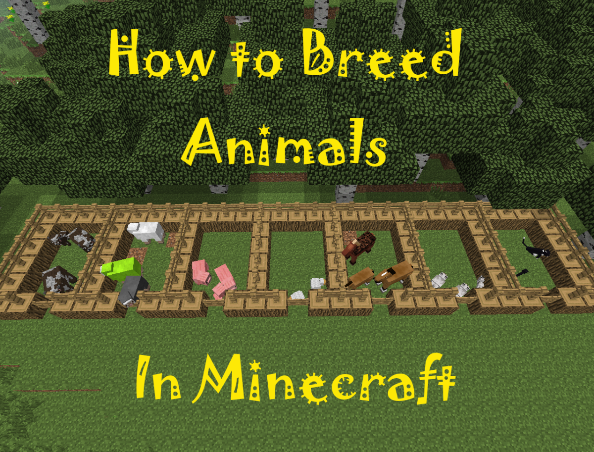 Learn how to breed different animals in Minecraft and the resources they provide!