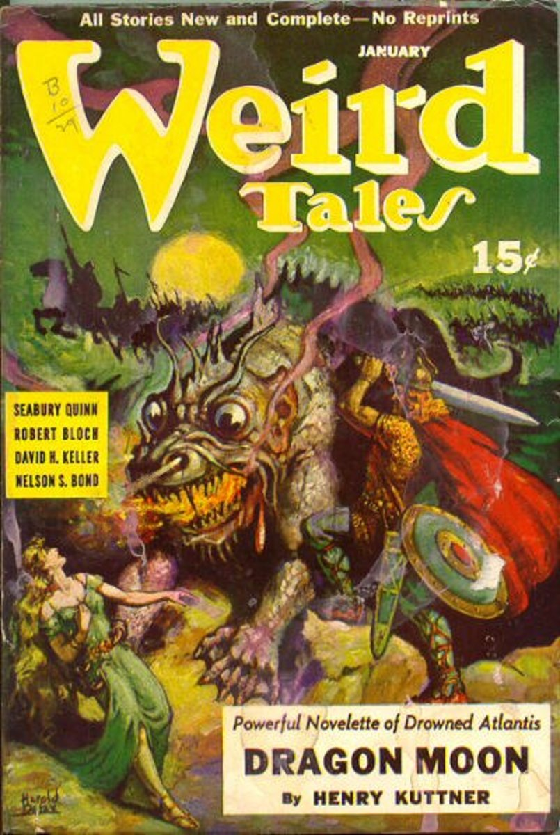 Monsters in pulp