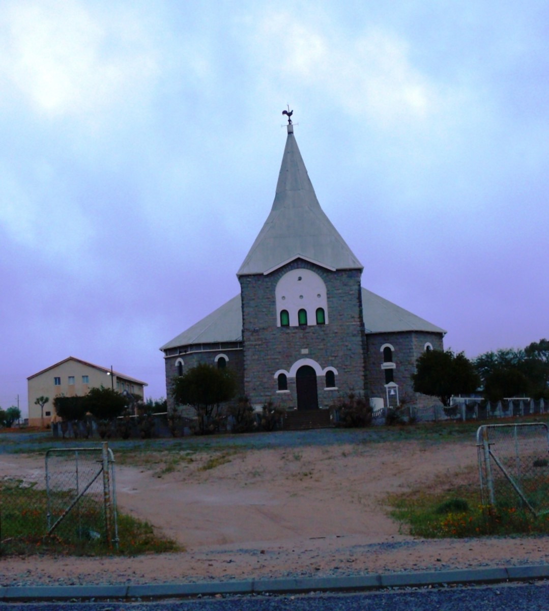 Every town has a church building or two