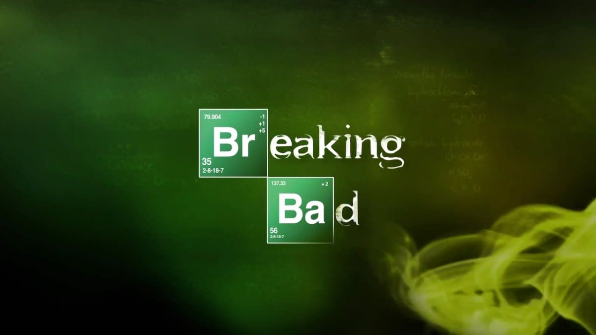 Breaking Bad's legendary opening title.