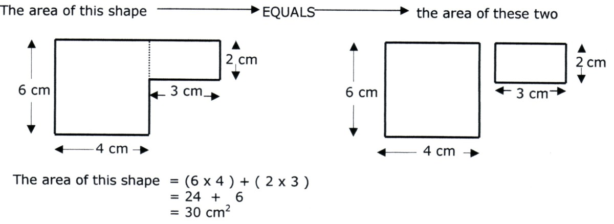 Math help what are area and perimeter how to work out the area so how do you work out the area of the compound shape above ccuart Image collections