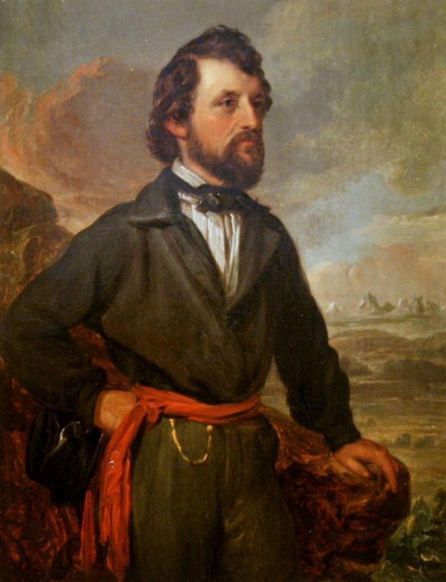 Explorer John C. Fremont in 1852