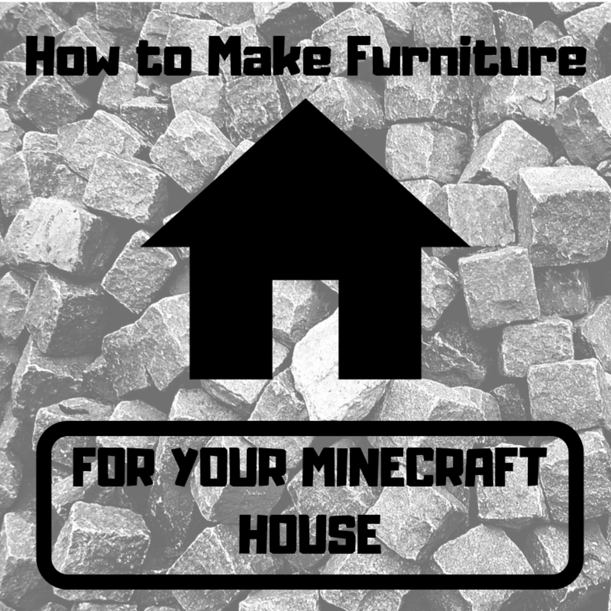 "Make your ""Minecraft"" house your own by adding some of the furniture and appliances in this tutorial."