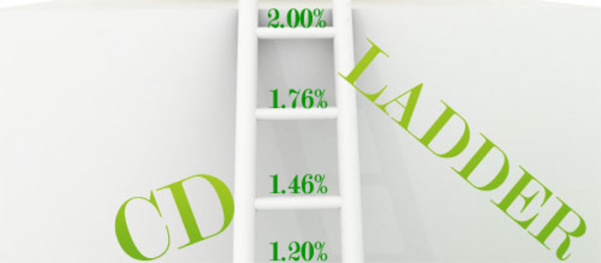 To implement a CD ladder investment strategy, buy CDs at higher levels over time.