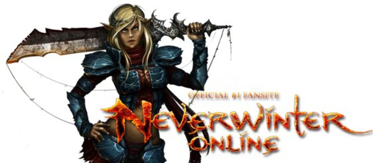 "The logo from the official website of ""Neverwinter Online."""