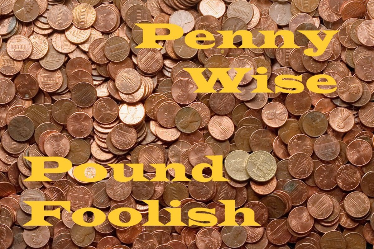 Penny Wise and Pound Foolish: Real Life Examples of Wasting Money While Trying to Save