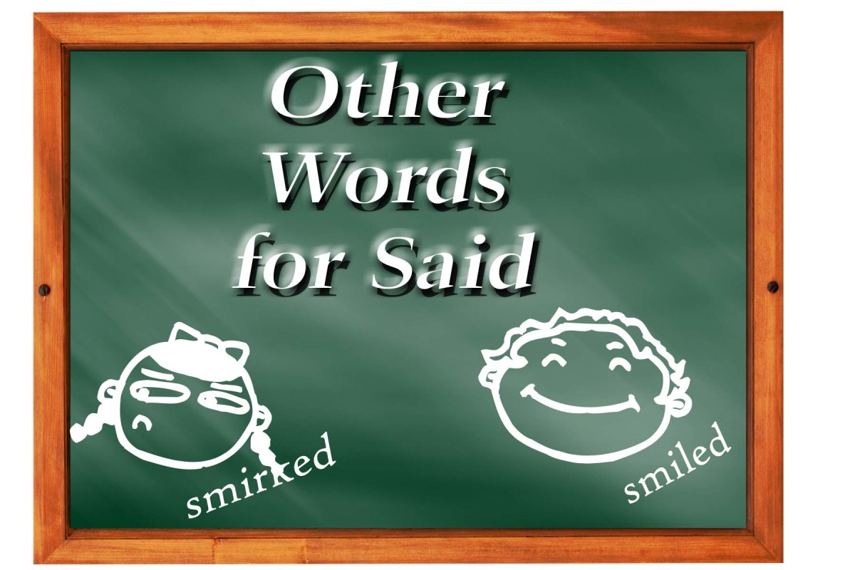 "Other Words for ""Said"" 