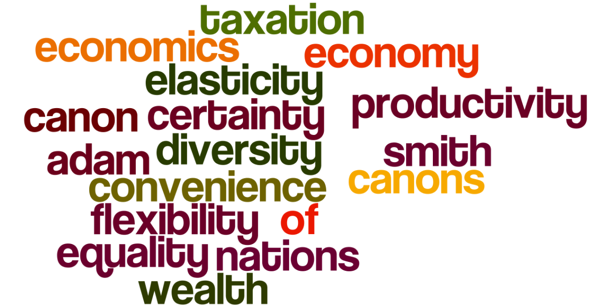 Canons of Taxation in Economics